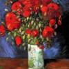 Yağlıboya çiçek tabloları