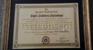 diploma çerçeveleri